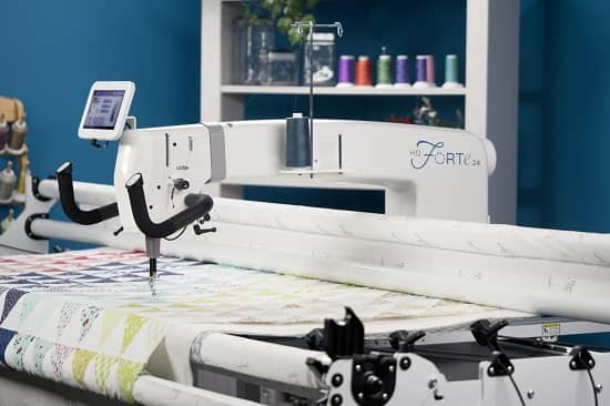 Handi Quilter Forte 24 Long Arm Quilting Machine With Gallery2 Frame