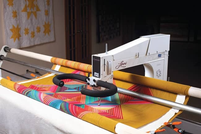 How To Use A Longarm Quilting Machine