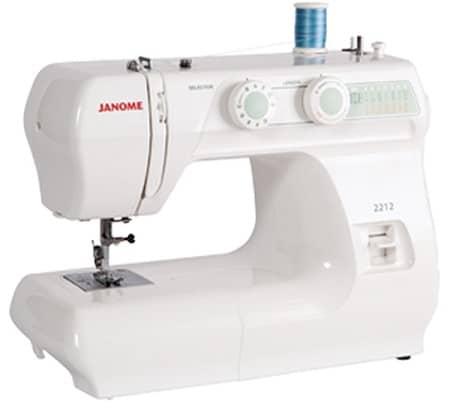 Janome 2212 12 Stitch Full Size Freearm Sewing Machine