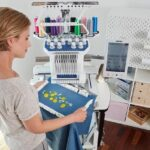 How Do Placement Of Needle On Multi Needle Embroidery Machine