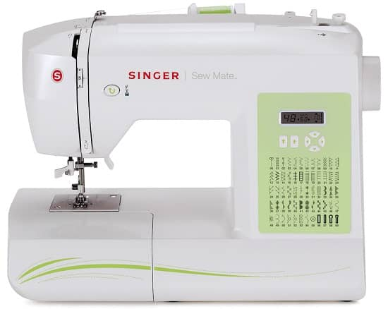 Singer Sew Mate 5400 Factory Serviced